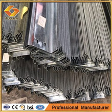 Zed Z Purlins, Per-galvanized or black, Cold Bend Steel Structure Hanging manufactured in Tangshan China
