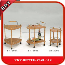 Hotel Coffee Shop Furniture Service Carts Kitchen Accessory Kitchen Trolley Cart Tea Trolley