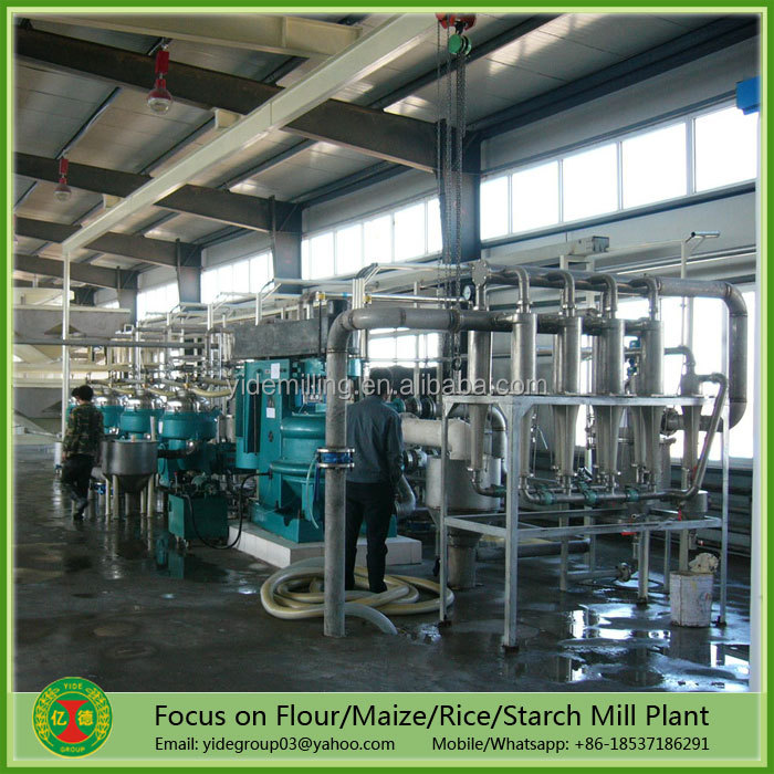Professional design high capacity corn starch production plant