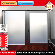Custom Frosted Interior Glass Bifold Door Glass French Doors