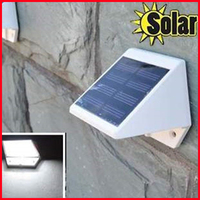 Free Shipping! 4 LED Solar Powered Stairs Fence Garden Security Lamp Outdoor Waterproof Light