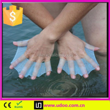 Silicone Swimming Finger Webbed Gloves