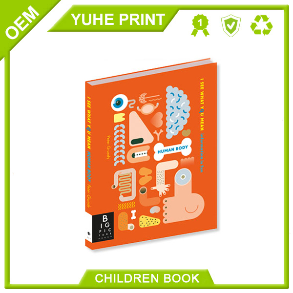 Cheap well designed wholesale five years DIY hardcover die-cut CMYK 4C printing bulk kids recordable book