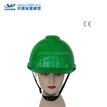 v breathable green industrial safety hard hat ce en397 approved manufacturer by CE certification