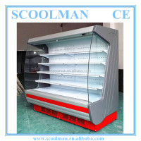 Commercial Refrigerated Produce Display Cooler