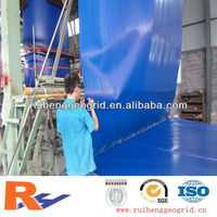 60mil blue geomembrane HDPE pond liner