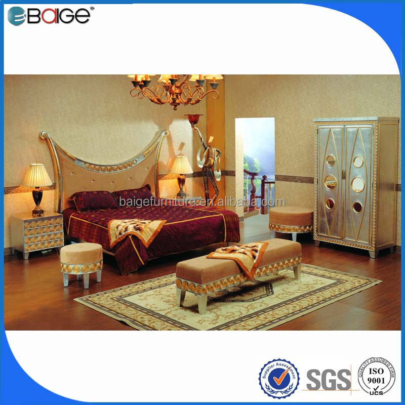 Chinese Bedroom Furniture King Size Round Bed Frame King Size