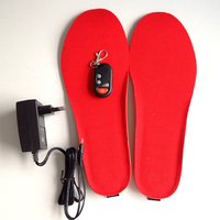 Three Temperature Electric Rechargeable Heated Warm Insoles
