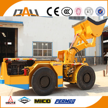 China made heavy duty load mining equipment underground diesel high-lift carry-scraper with DEUTZ engine and CE for sale