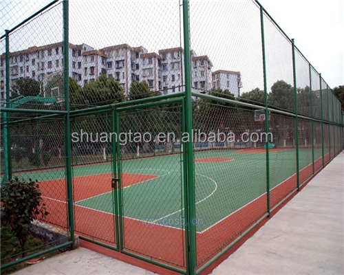 PVC coating Cheap chain link fencing & chain link fence extensions
