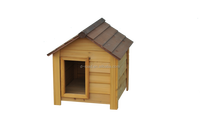 Simple Wooden Kennel Pet House