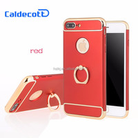 wholesale TPU PC Phone Cover Protective Case For iPhone 7 plus Case,mobile phone case