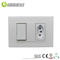 2015 High Quality Best Price Brazil Power Socket Strip With Switch