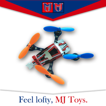 Plastic model 2.4g rc quadcopter cooler fly, funny flying toy plane for sale