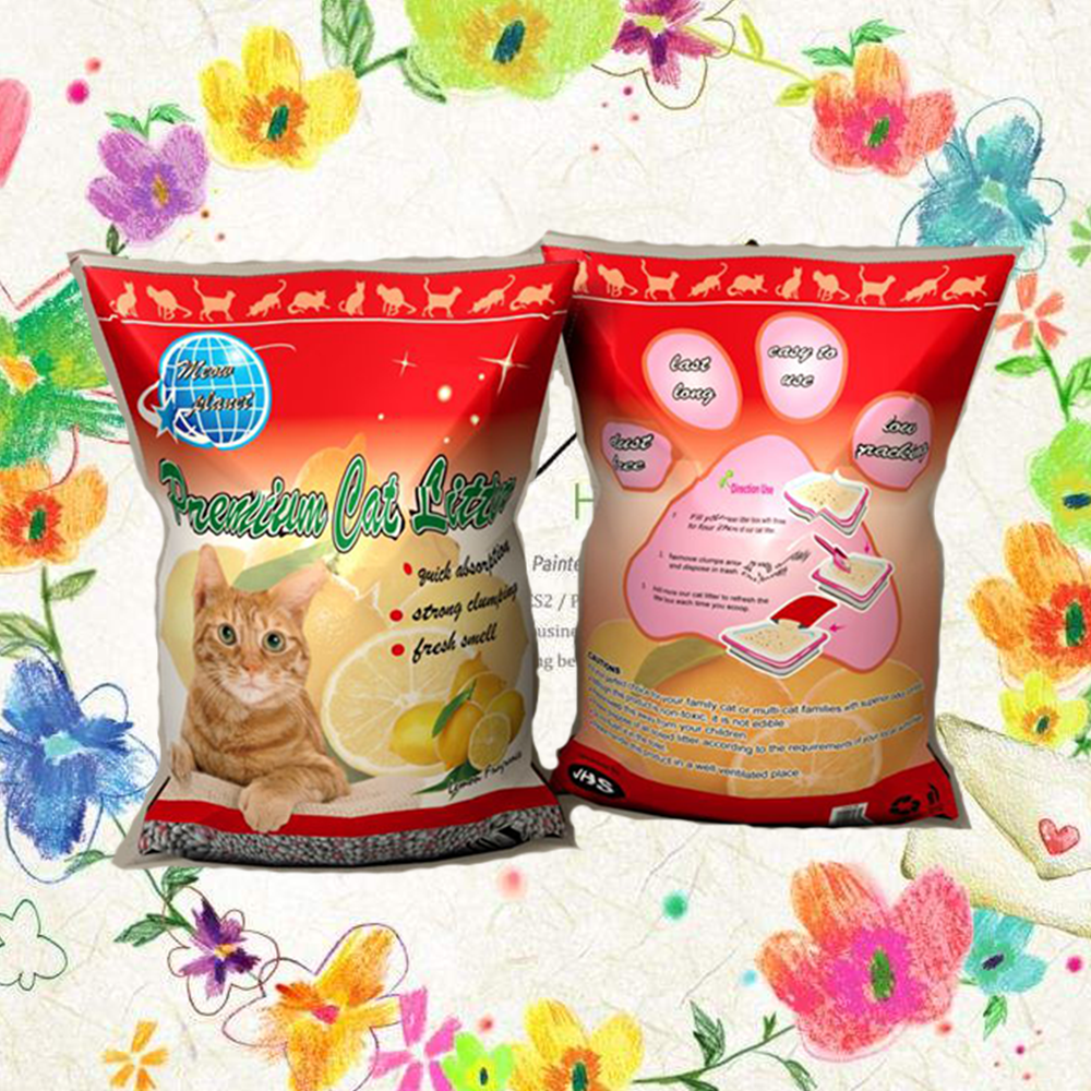 instant strong clump formation long lasting freshness highly economical bentonite pet sand cat litter