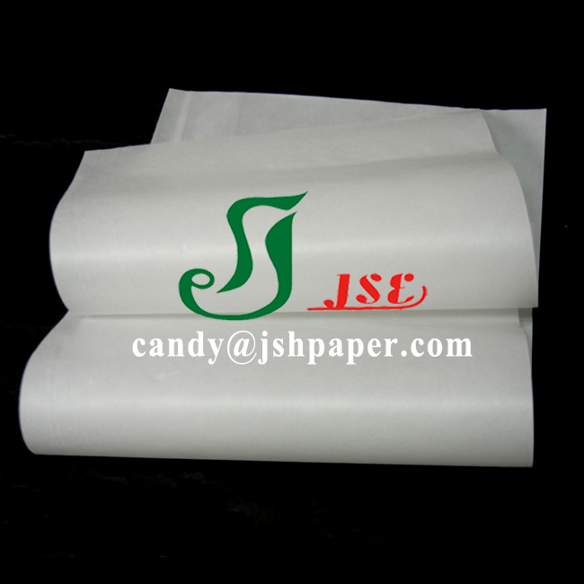 40gsm high whiteness sulphite glassine paper 700*1000mm 350sheets/pack to Iran