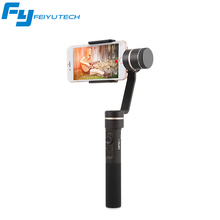 Feiyu FY SPG C 3-Axis Handheld Gimbal for Smartphone Stabilizer for iphone HUA WEI Zoom Button Professional Selfie Stick
