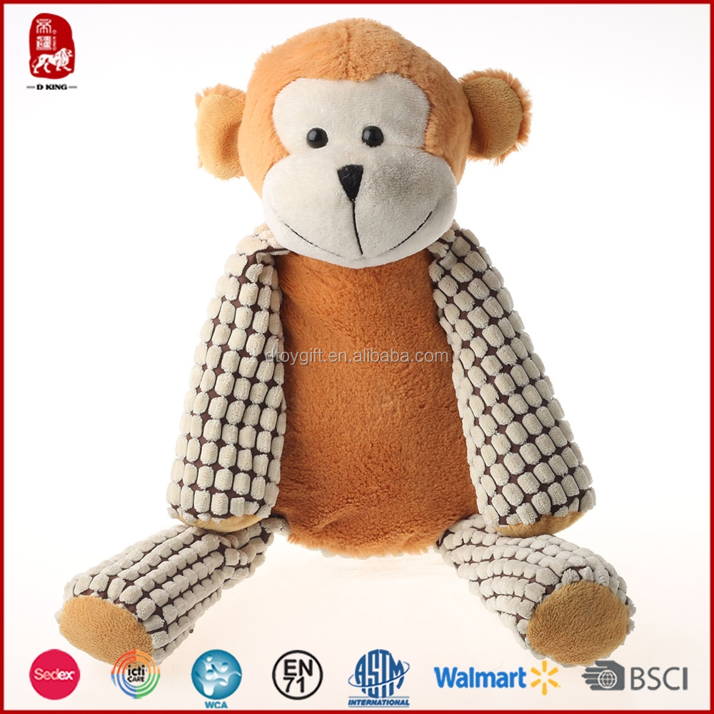 2015 hot sale Sedex customize plush monkey toys for gifts