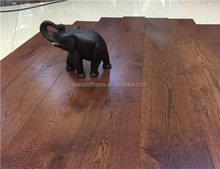 150mm wide plank mocha stain American Oak Hardwood Flooring