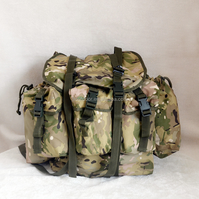 CP Camouflage Alice Bag, Army Military Tactical Bag with Frame Inserted