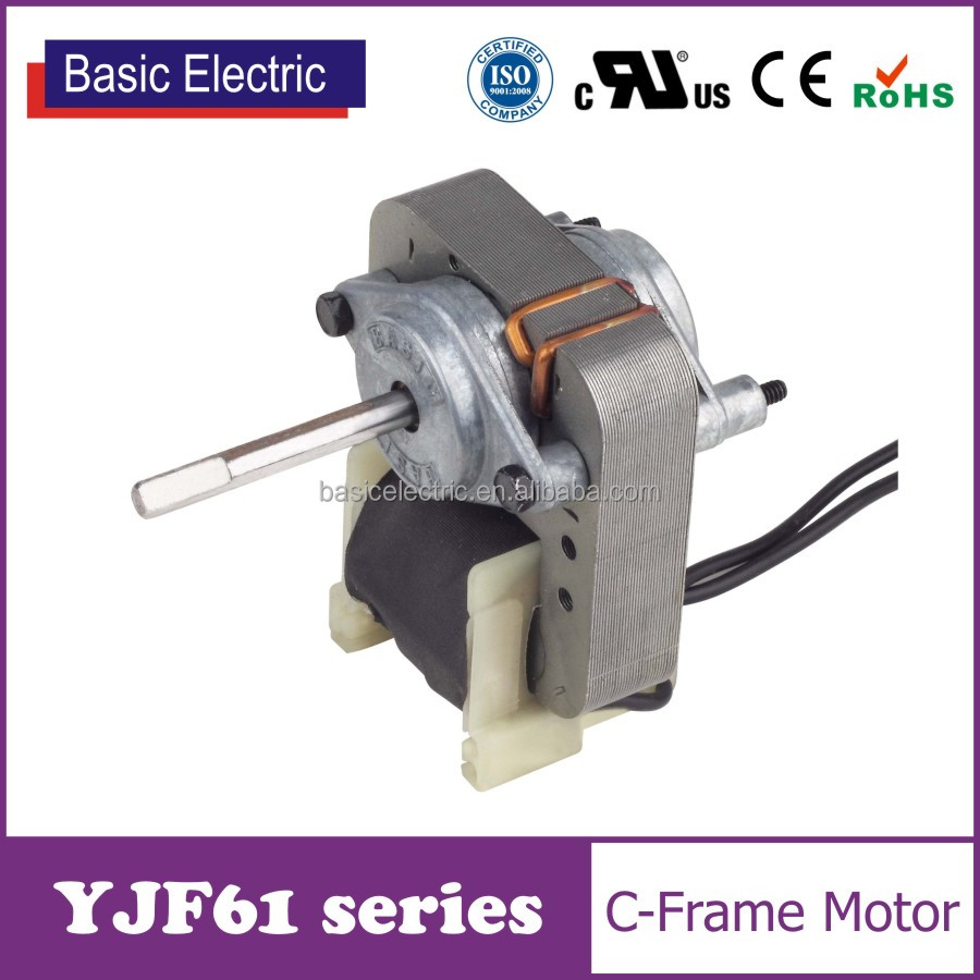 China factory price UL approved shaded pole ac exhaust fan motor YJF61 series