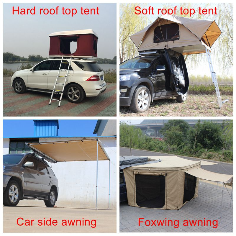 Car Camping 4x4 Offroad Hard shell Roof Top tent for sale