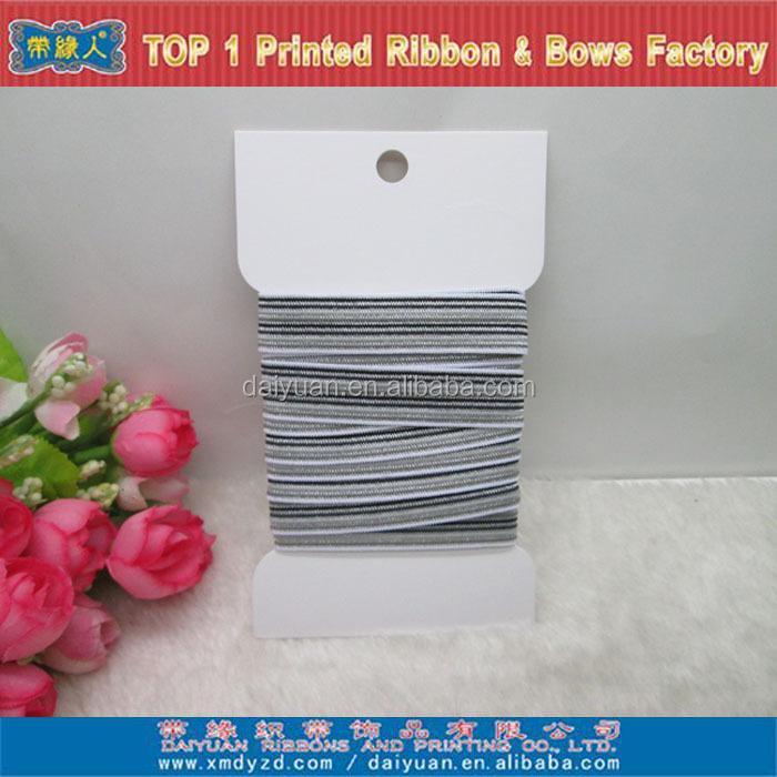 High quality Stripe Elastic tape for underwear