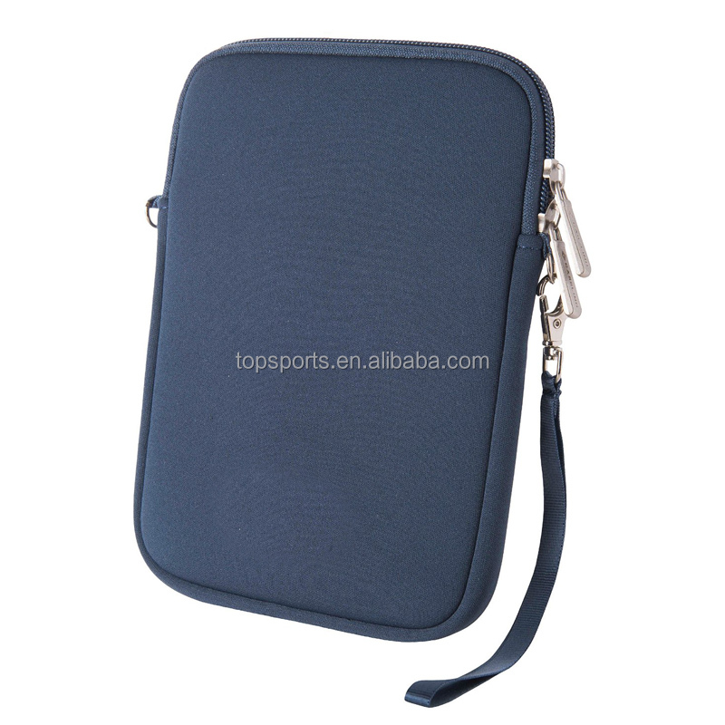 7 inch neoprene laptop computer sleeve/tablet case with Carabiner