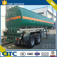 Oil Fuel Transport Tank Semi Tanker