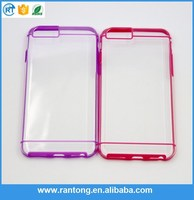 Factory supply strong packing plastic/tpu phone case for iphone 6 plus wholesale price