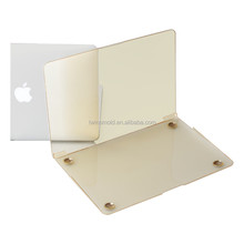 2015 New arrival 1mm transparent crystal clear plastic case for mac book air 13