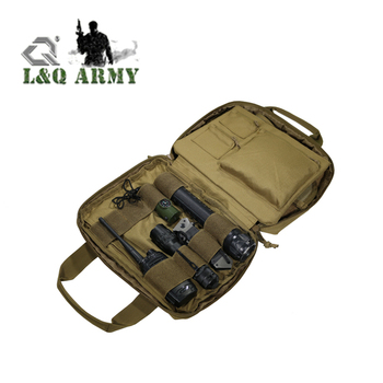Soft Pad Concealment Pistol Case Tactical Gun Holder with Zipper