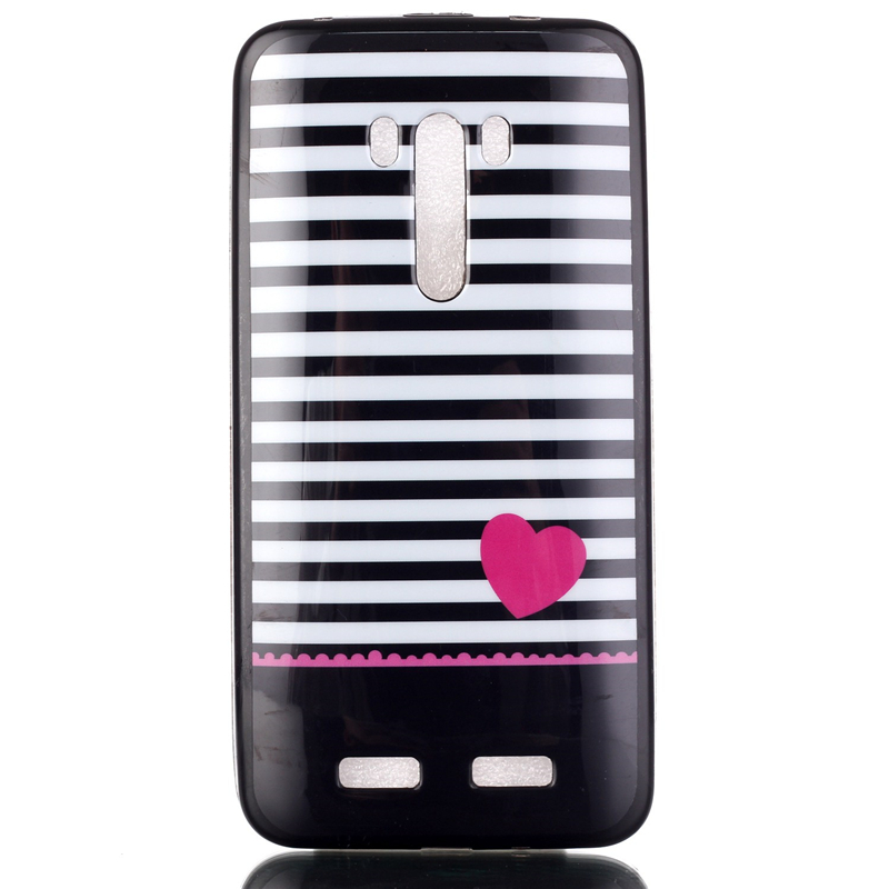 Hot Selling Cell Phone Jelly TPU Color Printed Back Cases For Asus Zenfone 2 Selfie