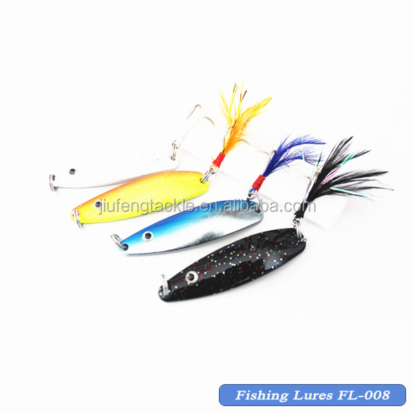 Hard Fishing Lure Metal Spoon Fish Lure