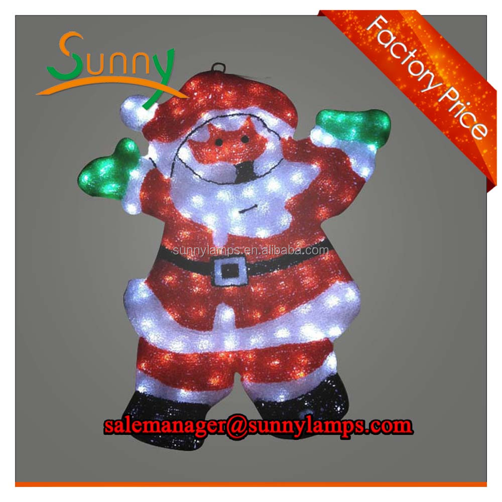 ce/rohs christmas decoration parachute santa waterproof