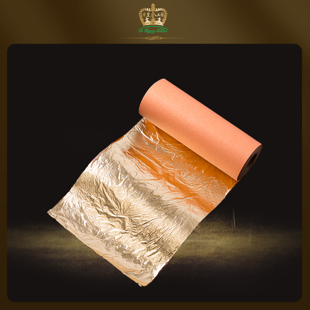 Crafting 180g 24K Genuine Gold Leaf for Arts Gilding DIY 25 Sheets Decoration Crafts