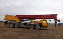 Second hand sany STC500 50t truck crane 50t used condition sany STC500 50t year 2008