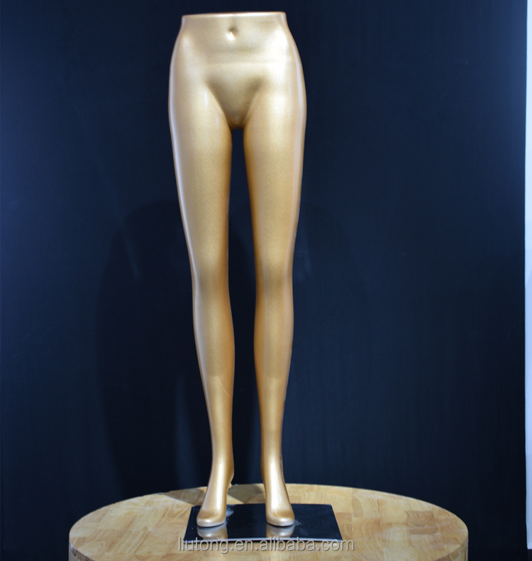 Abs resin material, ladies lower half pants Mannequin