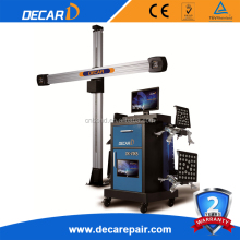 DECAR portable sunshine wheel alignment equipment used 3d wheel aligner for sale