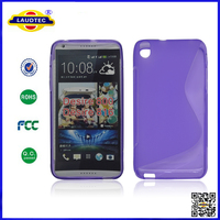 New Product Mobile Phone TPU Case for HTC Desire 800, S Line TPU Case for Desire 800