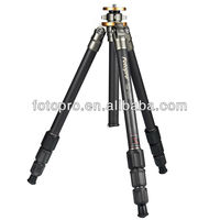 Fotopro Professional Tripod made of carbon fiber and aluminum, professional and high quality