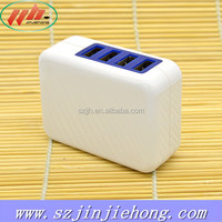 Micro USB DC 5V 4A power supply 4 usb wall charger adapter for iPad iPod iPhone