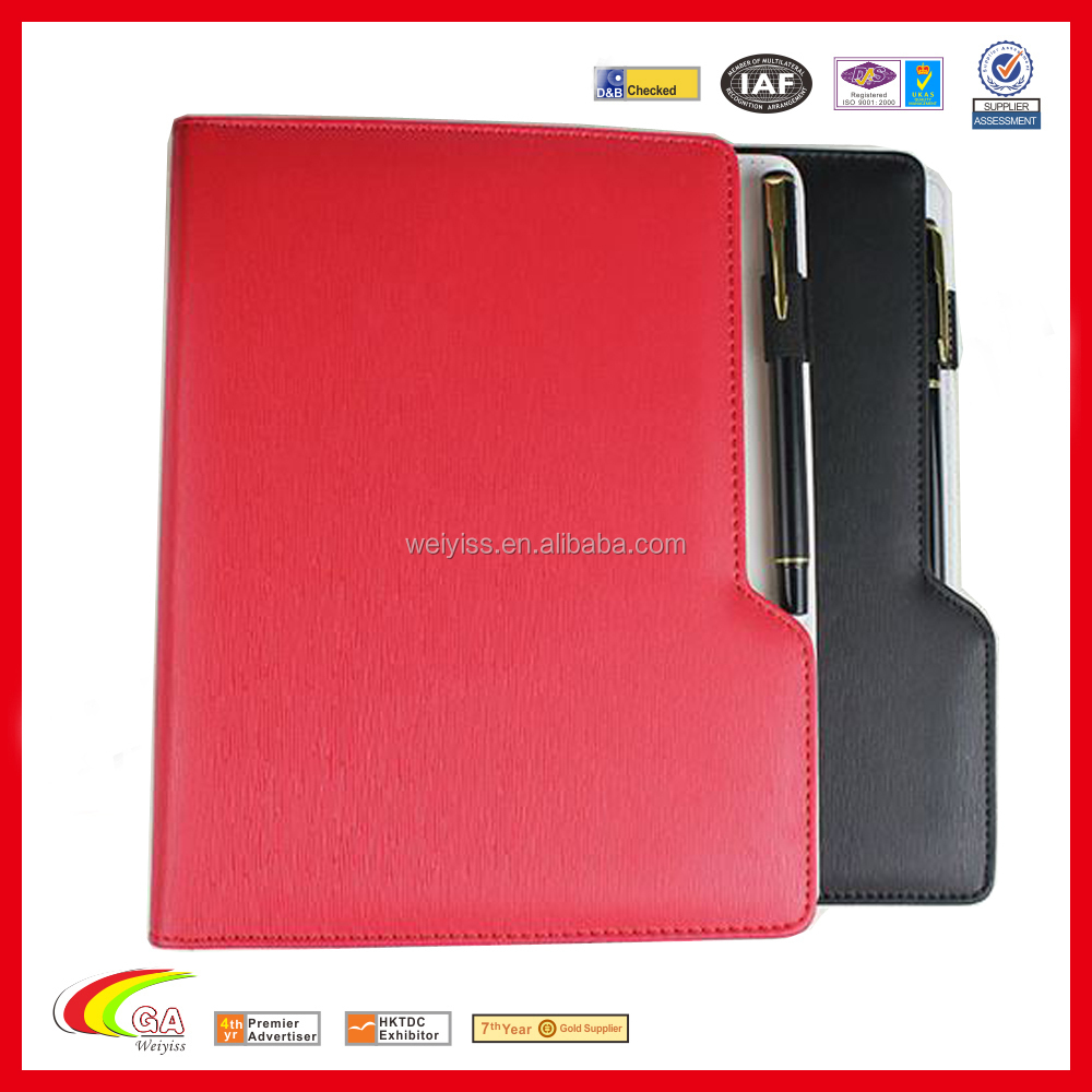 6 Ring Binder A5 Spiral Notebook Leather Cover Day Planner
