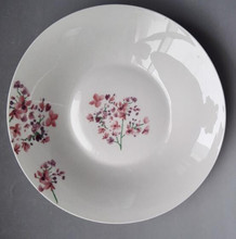 Hot sale 8inch cheap china plates for soup