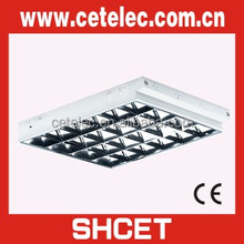 New 595X595 Grid type 2ft t8 fluorescent light fixture
