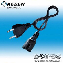 Advanced Swiss ac 2 pin power cable supply cord