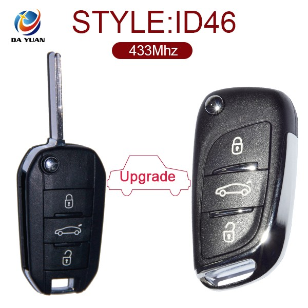 Auto fold remote 433Mhz for Peugeot 3008 2013 2014 2015 models AK009030