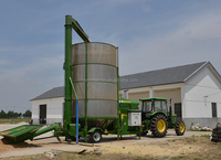 Jiangtai supply Mobile Penut Dryer used for drying grain, mobile corn dryer,mobile rice paddy dryer mobile maize drying machine