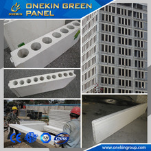Polystyrene sandwich wall mounted led signs panel Cost saving Mgo Panel easy to install 40kg/m2 per day worker for 100mm