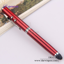 3 in 1 multifunction metal led light touch pen for xoom and laptop